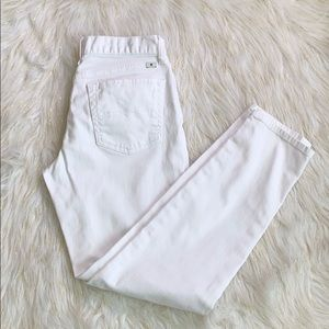 Lucky Brand White Sienna Cigarette jeans